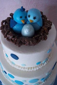 bird family baby shower by Corrie