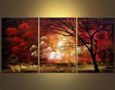 oil painting images landscapes - Google Search