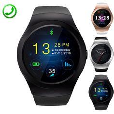 KS2 Runde Smart Uhr Unterstützung 2G GSM TF Sim-karte Smartwatch Elektronische Sport Aktivität Uhr Inteligente Pulso Für iOS Android //Price: $US $61.09 & FREE Shipping //     #smartwatches