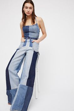 a0b90899472 Slide View 1  Barber Constellation Jumpsuit Denim Outfit