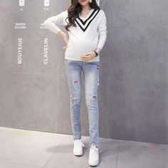 Jkz603 Top Design Jeans Pants For Pregnant Women Maternity Enbroidery Denim Pants Maternity Wear Stocks - Buy Pregnant Jeans,Maternity Panties,Maternity Wear Product on Alibaba.com