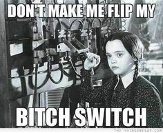 She's all about issuing a fair warning. | Community Post: 18 Times Wednesday Addams Was The Hero Young Girls Needed