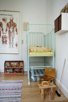 haha someone thinks my freaky anatomy poster is good decor for the toddler's room