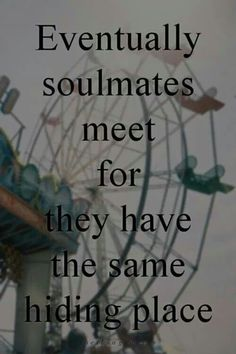 Love life and soulmate