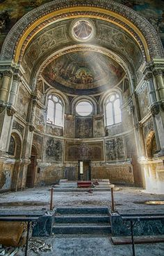 Abandoned Church In Chicago. ~ETS #abandoned #church #architecture