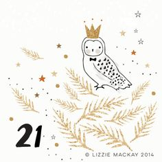 Avent calandre Lizzie Mackay Day 21 loves...