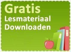 Gratis lesmateriaal downloaden.  ( klik op het logo zoals het hiernaast te zien is op de website, dan wordt je doorgelinkt naar de gratis materialen)