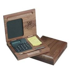 Alarm Clock And Calculator Desk Set With Pen Holder Fine Quality Calender World Time