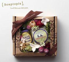 【Soaptopia】Flower Gift Set J/ソープ&オイル