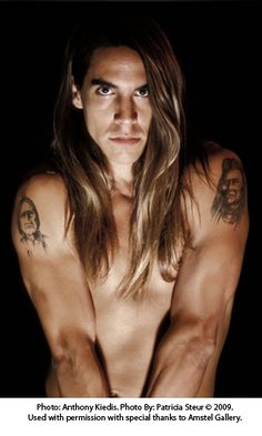 Anthony Kiedis, from the Red Hot Chilli Peppers. So Hot!.
