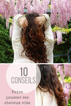 10 conseils naturels pour accélérer la pousse des cheveux -