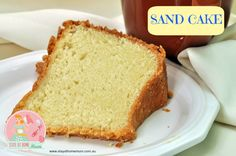 A Sand Cake is a very old fashioned cake like a cross between a light sponge and a heavy butter cake. It makes for a wonderful birthday cake and can be made in large batches. Homemade Cake Recipes, Pound Cake Recipes, Baking Recipes, Dessert Recipes, Desserts, Flour Recipes, Healthy Recipes, Cake Recipe Using Self Rising Flour, Food Cakes