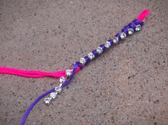 Glitter 'N Glue DIY Neon and Rhinestone Wrap Bracelet