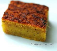 Cassava Pone -  Cassava pone is mainly made from cassava root, pumpkin, sweet potato, coconut, sugar, nutmeg, butter and milk with some recipes including carrots or raisins.