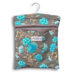 Carnations Variations: Peg bag. Fabric designed and printed in-house. Hand-made on demand for £9.00