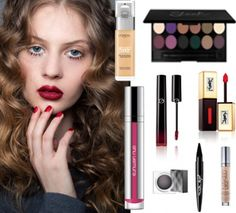 Vu sur les catwalks, la bouche ultra-dark, le teint over-tan et le regard graphique sont de saison. Tour d'horizon sur les maquillages tendances automne-hiver 2015-2016 ...