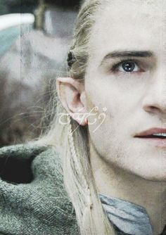 LEGOLAS IN ELVISH! This is sindarian though, and I have learned quenyan. Not that different.