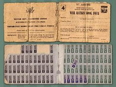 War Rationing » The 1940's •