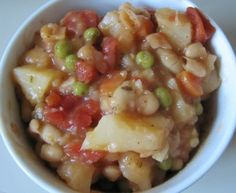 Quick & Easy Starchy Stew Recipe [vegan]