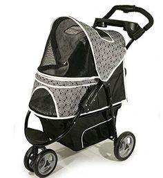 Best Pet Jogging Dog Stroller for Multiple Dogs 2 (Two) or 3 Dogs or Cats up to 50 Pounds New sporty pet jogging stroller for your small dog or pet. This black and gray pet stroller can Read  more http://dogpoundspot.com/best-pet-jogging-dog-stroller-for-multiple-dogs-2-two-or-3-dogs-or-cats-up-to-50-pounds/  Visit http://dogpoundspot.com for more dog review products