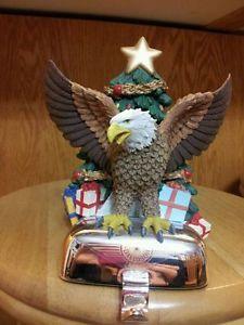 Harley Davidson Stocking Holder Christmas Ornament Nib
