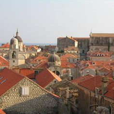 Old City of Dubrovnik. Gorgeous old houses and unique atmosphere. Plenty of alleys to explore.
