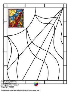 ★ Stained Glass Patterns for FREE ★ glass pattern 497 ★