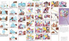 Origami - Spring Kusudama