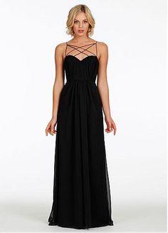 Charming Chiffon Sweetheart Neckline Floor-length Sheath Bridesmaid Dress