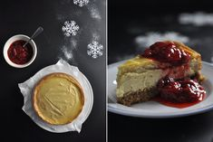 Vanilla cheesecake with strawberry compote recipe from Fisher & Paykel Social Kitchen