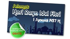 Ucapan Idul Fitri Template Ppt - Free Download