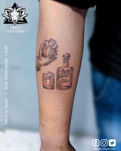 Black Ink Tattoos, Mini Tattoos, Love Tattoos, Tattoos For Guys, Aries Tattoos, Lion Tattoo, Tattoo Studio, Tattoo Artists, Free Images