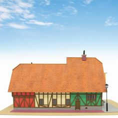 Studio Ghibli `Howl`s Moving Castle` Hat Shop Papercraft Kit