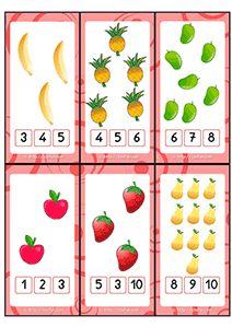 Apprendre les nombres et le Dénombrement Maternelle GS