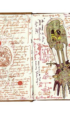 GUILLERMO DEL TORO SHARES 14 CREATIVE INSIGHTS FROM HIS SPECTACULAR CABINET OF CURIOSITIES SKETCH BOOK