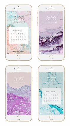 May Designs Blog - JANUARY GEODE PHONE + DESKTOP WALLPAPER DOWNLOADS