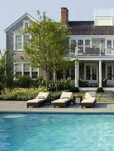 Hamptons chic - #hamptons #house