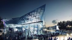 NBBJ, together with EOP Architects have announced a major over haul of the University of Kentucky's Rupp Arena, designed to be a state-of-the-art center for American sports. Kentucky is a state crazy for basketball, and they will be happy to spend $310 million for a new arena.
