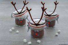 Kakao, Xmas, Christmas, Pudding, Desserts, Gifts, Food, Kindergarten, Hot Chocolate
