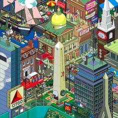 25 Wonderful Examples Of Isometric Pixel Arts   Pixel Curse