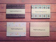 Mini envelopes, handmade envelopes, set of 10 envelopes, envelopes, by PinkyPromiseBargains on Etsy