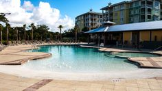 Our newest Resort pool, Palm Cove