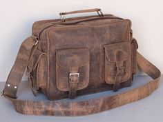 Vintage Leather Flight Bag 2 Thumbnail