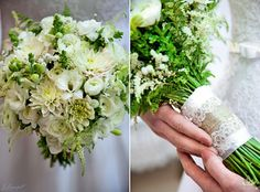 White wedding wildflowers