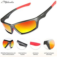 db4f73268a Get off now on Polarized Sports Driving Sunglasses for Men and Women with  Protection