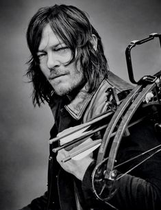 bethkinneysings:  Norman Reedus as Daryl Dixon photographed for TV Guide