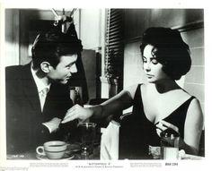 Laurence Harvey and Elizabeth Taylor