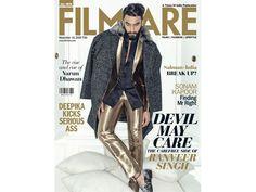 Ranveer Singh makes November helluva hot and intense on Filmfareâs latest cover - http://nasiknews.in/ranveer-singh-makes-november-helluva-hot-and-intense-on-filmfareas-latest-cover/