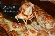 asiago meatball parmigiana