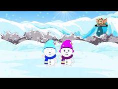 Five Little Snowmen, simpel engelstalig liedje